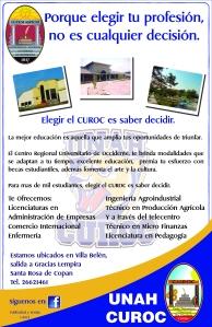 Afiche CUROC 11x17